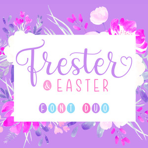frester & easter font duo