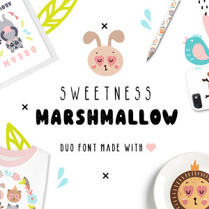 sweetness marshmallow duo