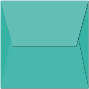 4-flap nesting window card - square envelope