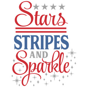stars stripes & sparkle