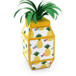 pineapple shaped box
