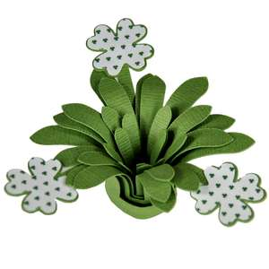 four leaf clover fun flower