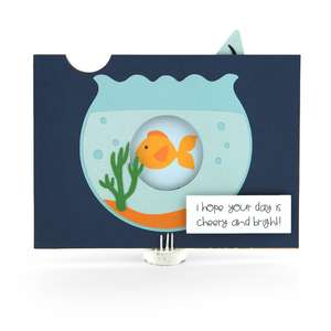 5x7 iris shutter card fishbowl