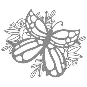 butterfly flower background