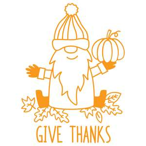 give thanks gnome