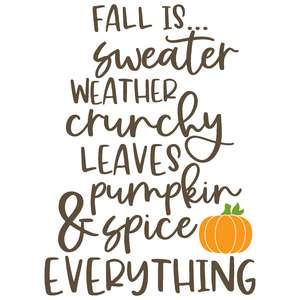 fall is ...