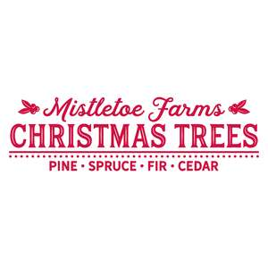 mistletoe farms christmas trees