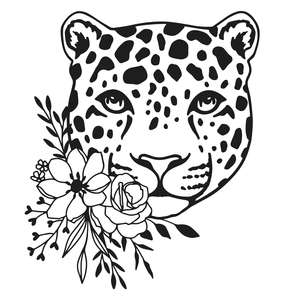 wildflower leopard
