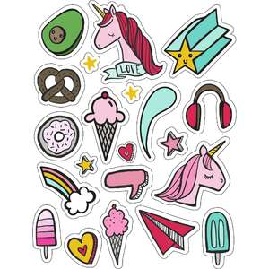 ml tween cool stickers