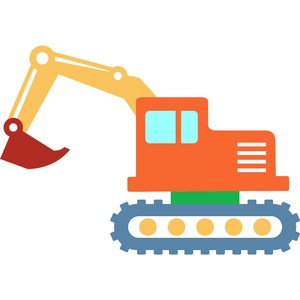 crawler excavator toy