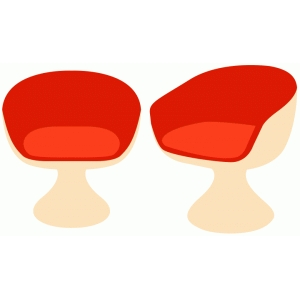 groovy round chairs