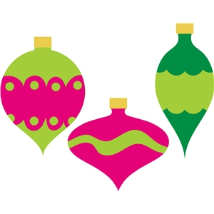 Christmas ornaments-simple