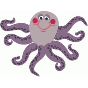 octopus with choosing legs
