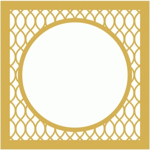 geometric lattice page frame