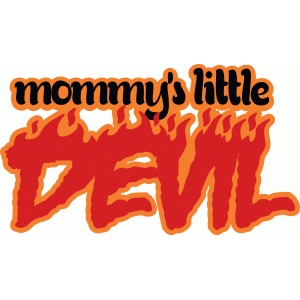 mommy's devil title
