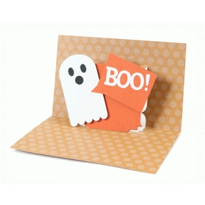 boo pop up card