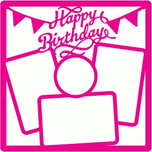 12 x12 birthday mat