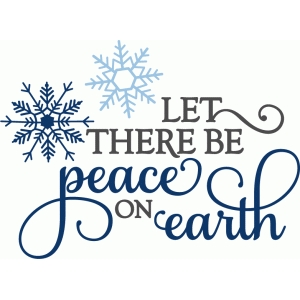 let there be peace on earth - phrase