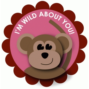 wild about you print and cut
