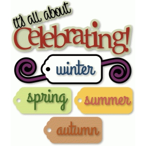 celebrating! seasons