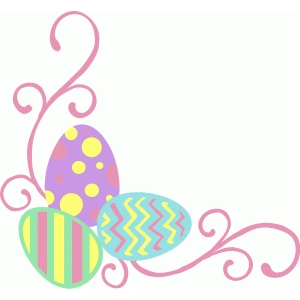 easter egg flourish