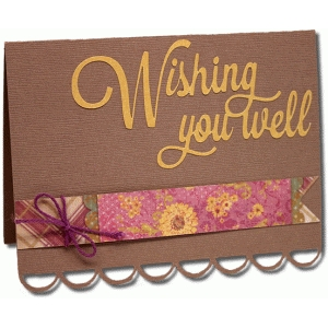 wishing you well a2 card