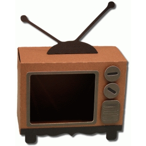 3d retro tv box