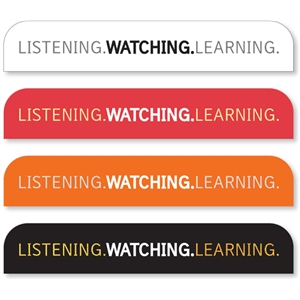 'listening.watching.learning.' tab
