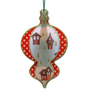 3d layered ornament