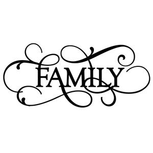flourish word - family