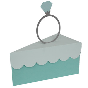 diamond ring cake box