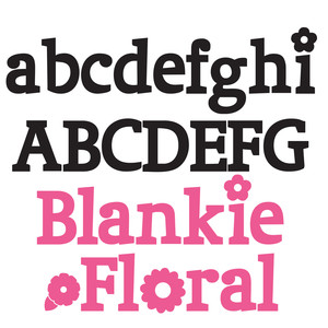 ld blankie floral bold