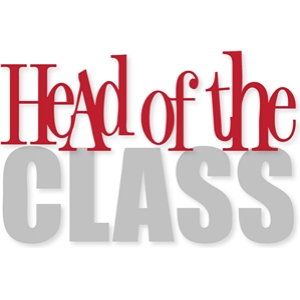 'head of the class'
