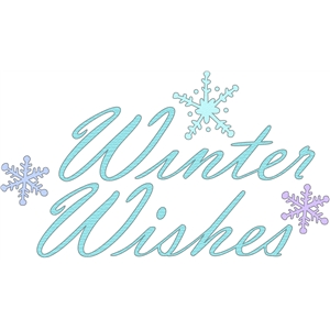 winter wishes phrase