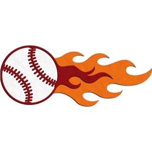 fire flourish - baseball