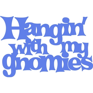 hangin' with my gnomies phrase