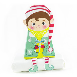 boy christmas elf box