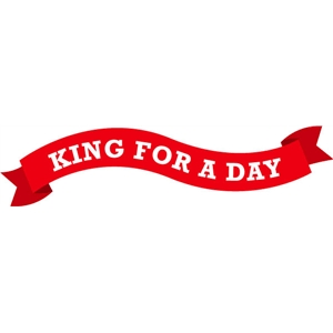 echo park king for a day banner