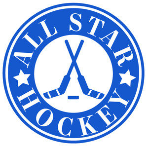 all star hockey label