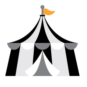 big top tent - candy carnival