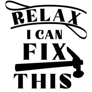 relax i can fix this