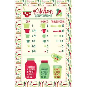 holiday cookbook kitchen conversion page