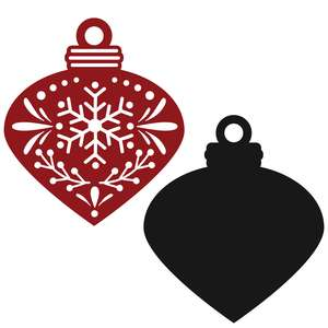 christmas ornament template