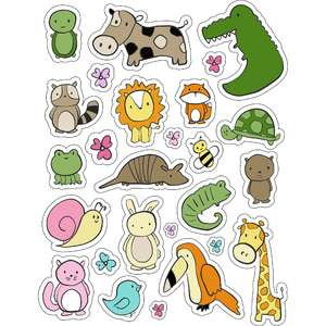 ml it's animals stickers