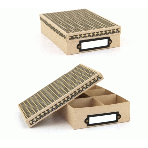 4x6 lori whitlock storage box with dividers