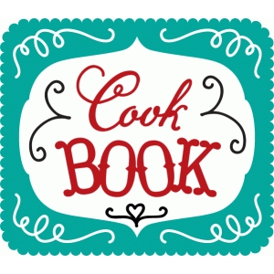 cook book word art