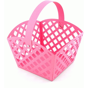 3d lattice easter basket