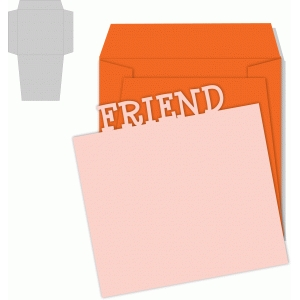 friend card/envelope