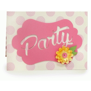 girl party invitation