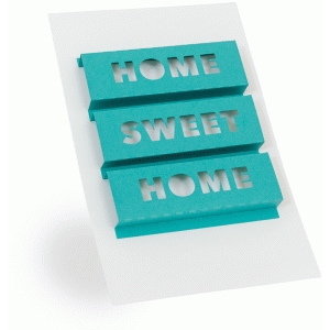 3d word art- home sweet home